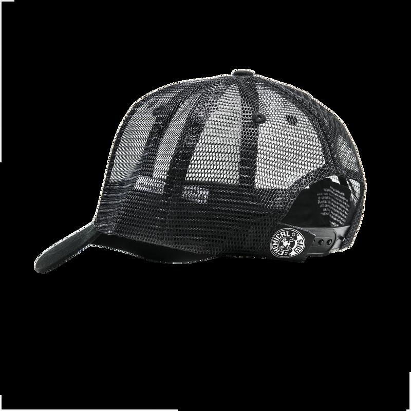 44ddfd1bf Rubber Logo Trucker Hat