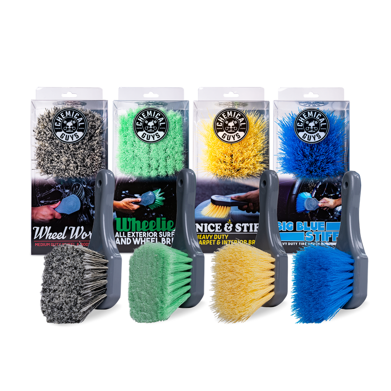 All Interior And Exterior Detailing Brush Kit