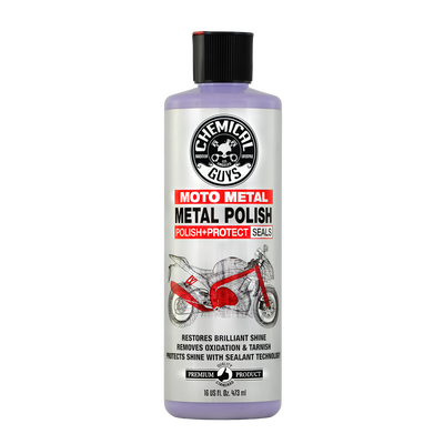 Moto Metal Polish Cleaner, Polish & Protectant for Motorcycles