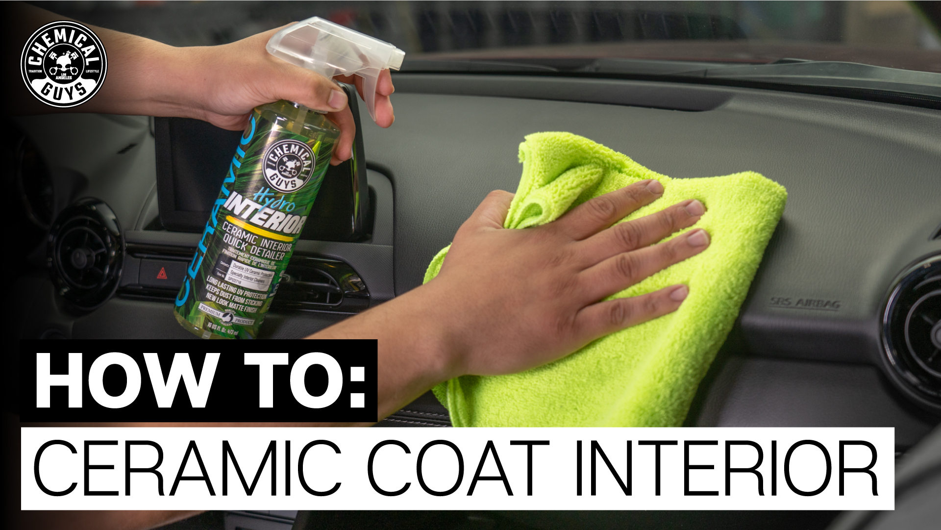 Utilizing specialty cleaners, polymers, and nanoparticles of SiO2, HydroInterior delivers superior results and an even new-look factory matte finish with extra long lasting protection. HydroInterior is more than a ceramic detailer. Utilizing the latest in modern chemistry, the unique fusion of SIO2 gives HydroInterior self-cleaning properties that help keep dust from sticking and keep your interior cleaner longer!
