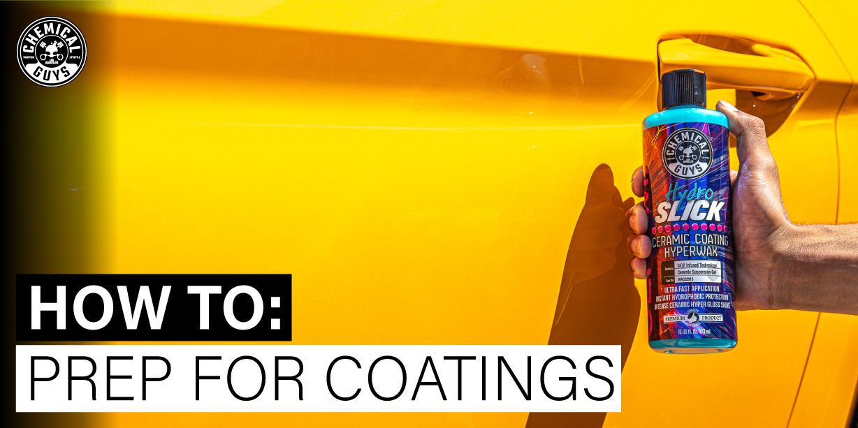 How To Prep For Coatings