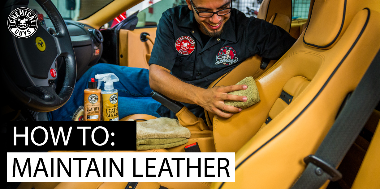 How To: Maintain Leather